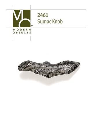 Modern Objects Designer Hardware Sumac Branch Cabinet Knob