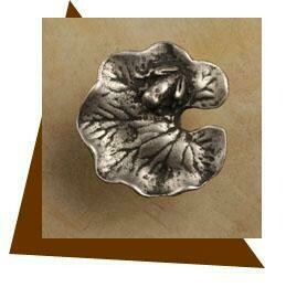 Anne at Home Lily Pad Cabinet Knob-Small