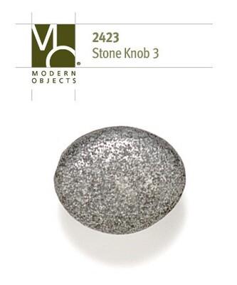 Modern Objects Designer Hardware Stone 3 Cabinet Knob