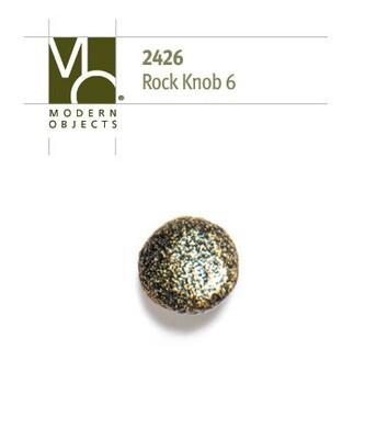 Modern Objects Designer Hardware Rock 6 Cabinet Knob