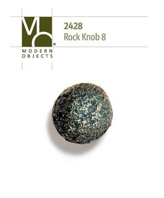 Modern Objects Designer Hardware Rock 8 Cabinet Knob