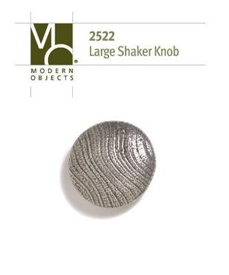 Modern Objects Designer Hardware Industrial Large Shaker Cabinet Knob