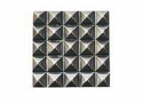 "ZivaWorks Decorative Hardware Grid Cabinet Knob 1 9/16"" x 1 9/16"""