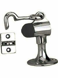 Von Morris Hardware Commercial Upright Floor Door Stop with Holder