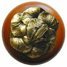 Notting Hill Cabinet Knob Leap Frog/Cherry Antique Brass1-1/2