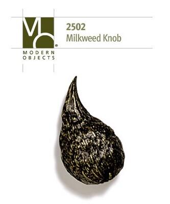 Modern Objects Designer Hardware Milkweed Plant Cabinet Knob