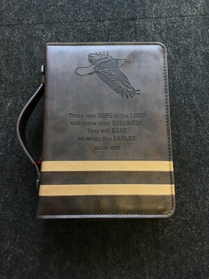 Black And Tan Bible Cover