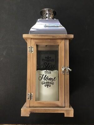 Bless this Home Lantern