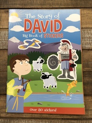 The Story of David Big Book of Stickers