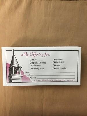 Offering Envelope Steeple