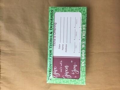 Offering Envelope Give