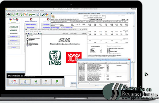 Sistema Auditor SUA vs Imss