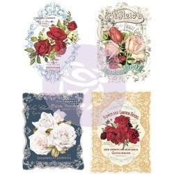 Prima Decor Transfer: Wild Roses