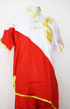 Uniforme de Wushu Chang Chuan Rojo/Blanco