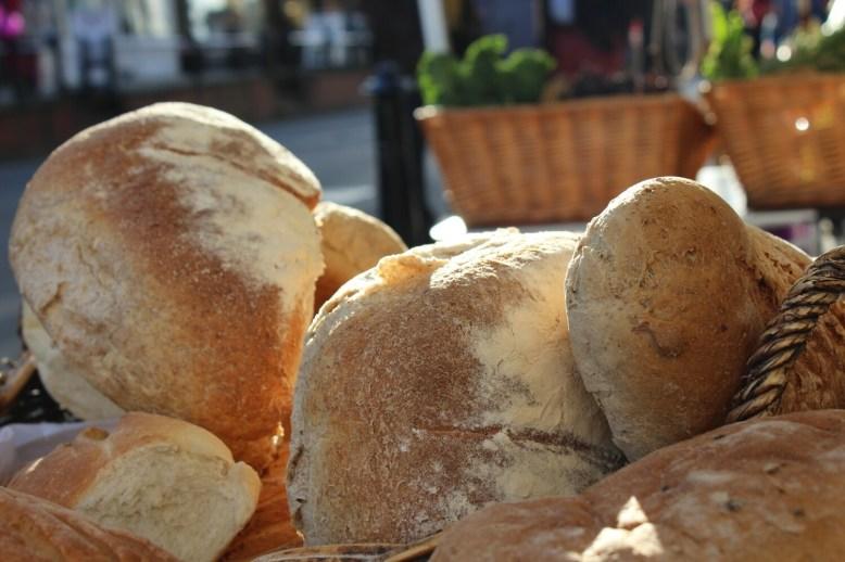 A small loaf of Westcott Bakery bread