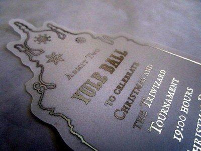 Wizarding Christmas Dance Ticket