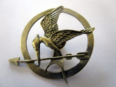 Starving Games Jay Pin / Brooch