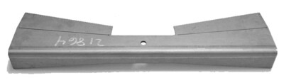 Flat Front Crossmember Main Plate Only