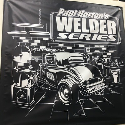 Welder Series 3x3 Shop Banner