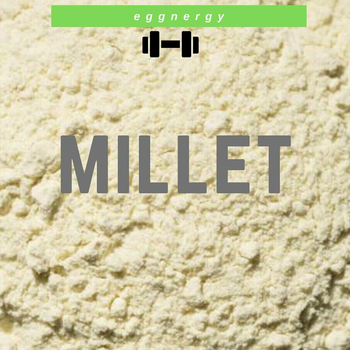 Farine de millet bio: 1 kg