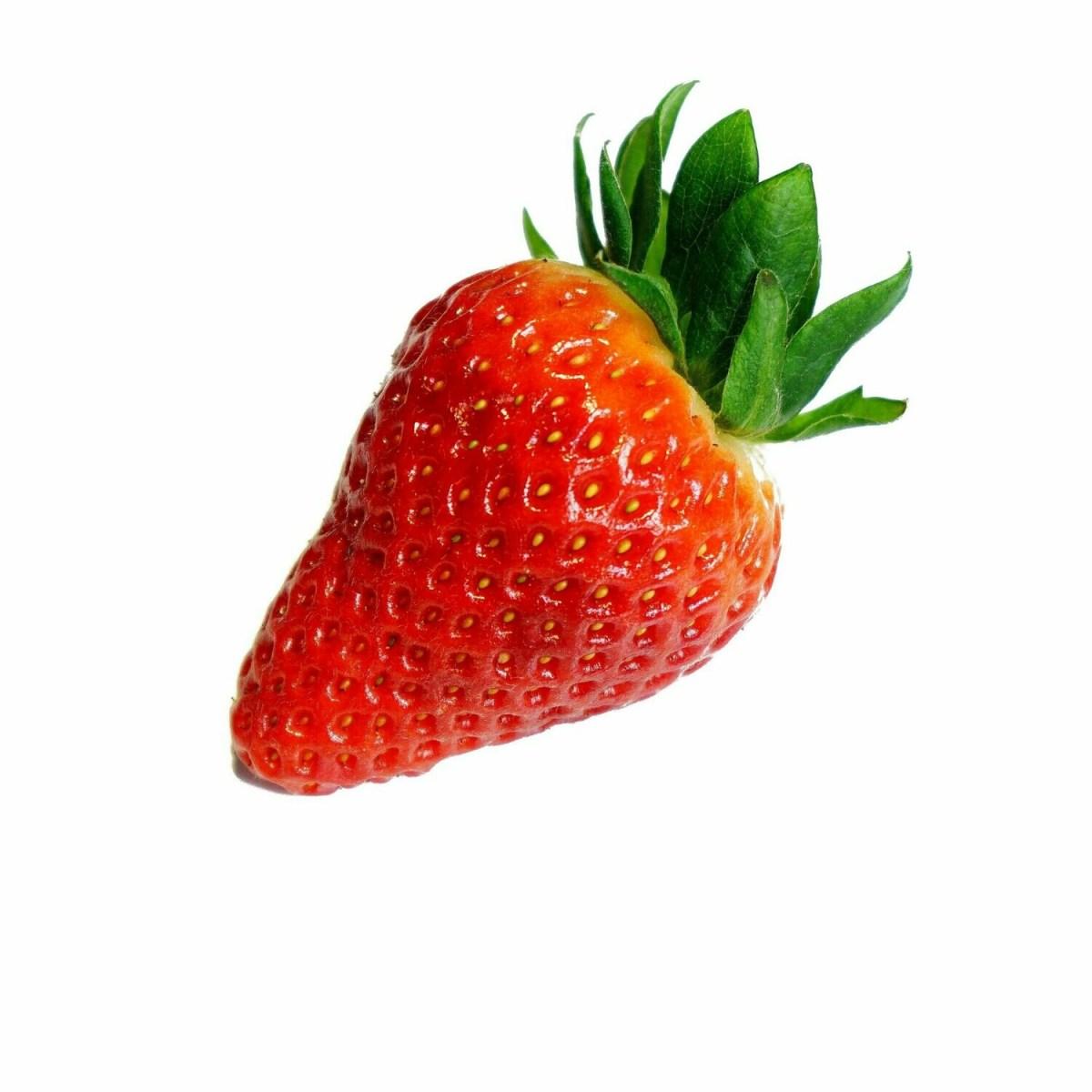 Blanc d'œuf à la fraise