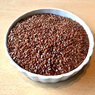 Lin brun bio en 250 g (graines)