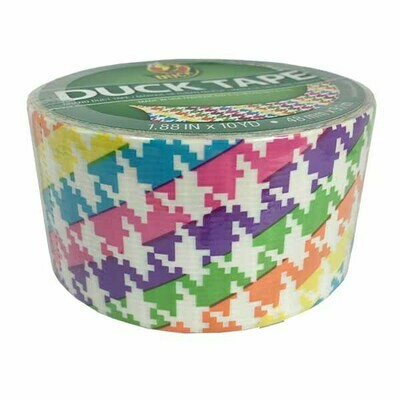 Duck Tape, Neon Houndstooth Duct Tape