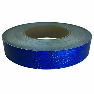 Holographic Sequin Tape, Cobalt Blue