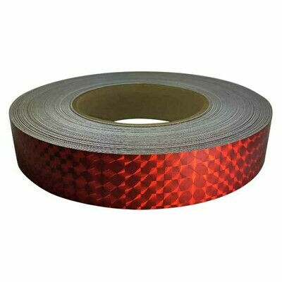 Prismatic Tape, Ruby Red