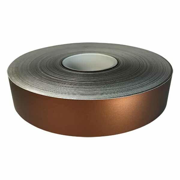 Brown Shimmer Satin Lustre Decorative Tape