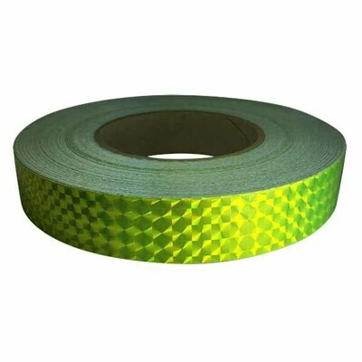 Prismatic Tape, Fluorescent Yellow