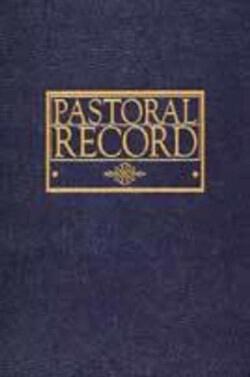 Pastoral Record Book