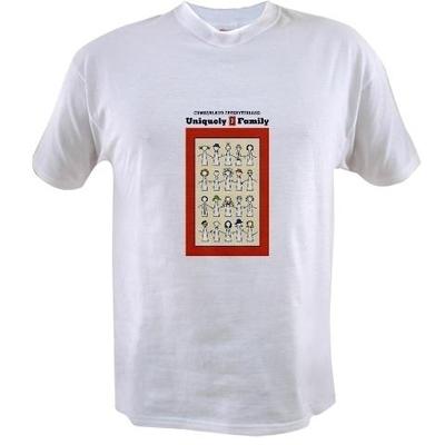 Cumberland Presbyterians Uniquely 1 Family White T-Shirt