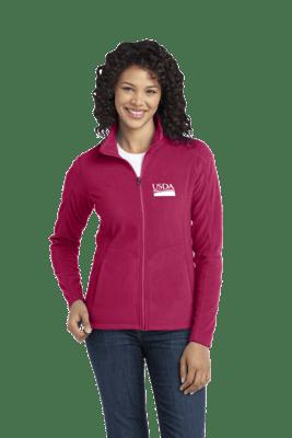 Ladies Microfleece Full Zip Jacket  REGULAR PRICE  $38.00