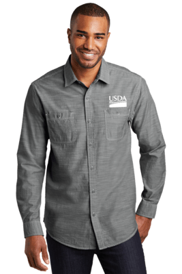 Men's Slub Chambray Shirt  REGULAR PRICE  $39.00