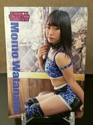 Momo Watanabe 2018 Stardom Base Card