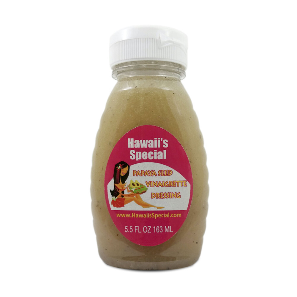 Papaya Seed Vinaigrette Dressing, 5.5 oz