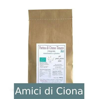 Farina di Grano Tenero Integrale (1kg)