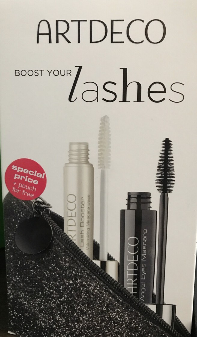Angel Eyes Mascara, Lash Booster & Beauty Bag Set