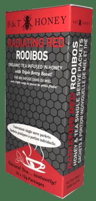 Radiating Red Rooibos Tea Shots