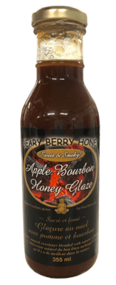 Apple Bourbon Honey Glaze