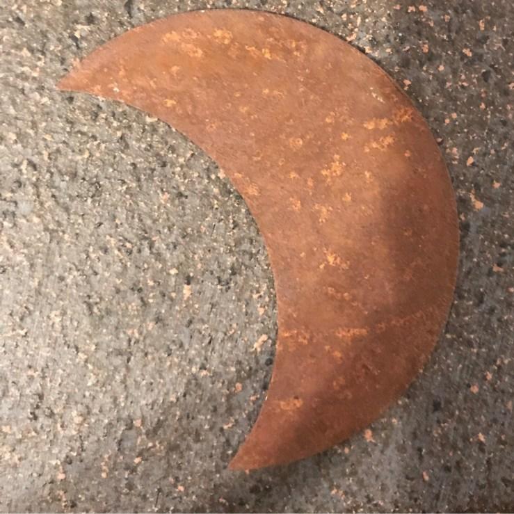 Rustic Crescent Moon - 2
