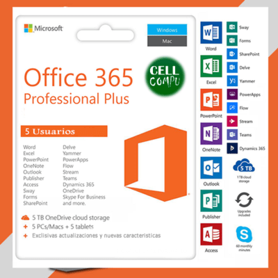Microsoft Office 365 - 5PCs
