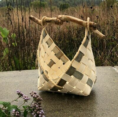 Triangles Basket: Saturday, July 11, 2020. 2:30-6:30 PM. All materials included, but feel free to bring a special stick for the handle. (I'll have a selection available as well.)