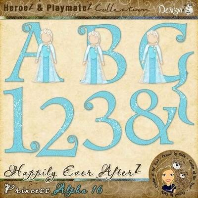 Happily Ever AfterZ: Princess Alpha 16
