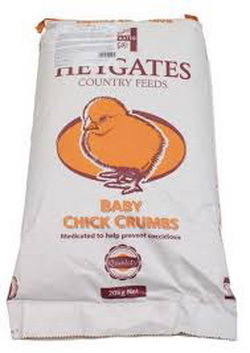 Haygates Feeds Baby Chick Crumb per 20kg.