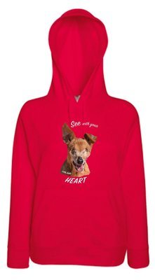 Little Belle Light Weight Hoodie 'See with your Heart'