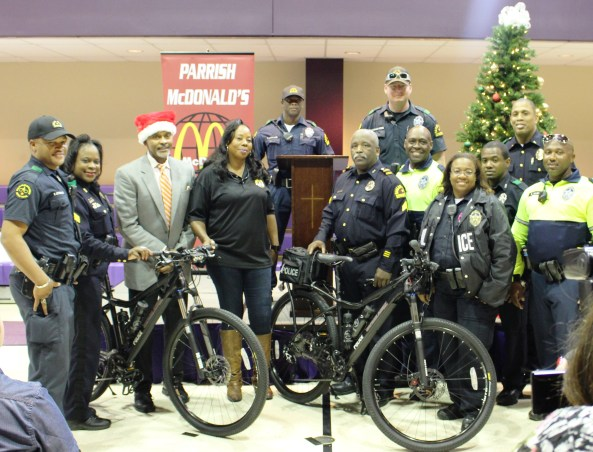 Mr. Roland Parrish with Dallas Officers