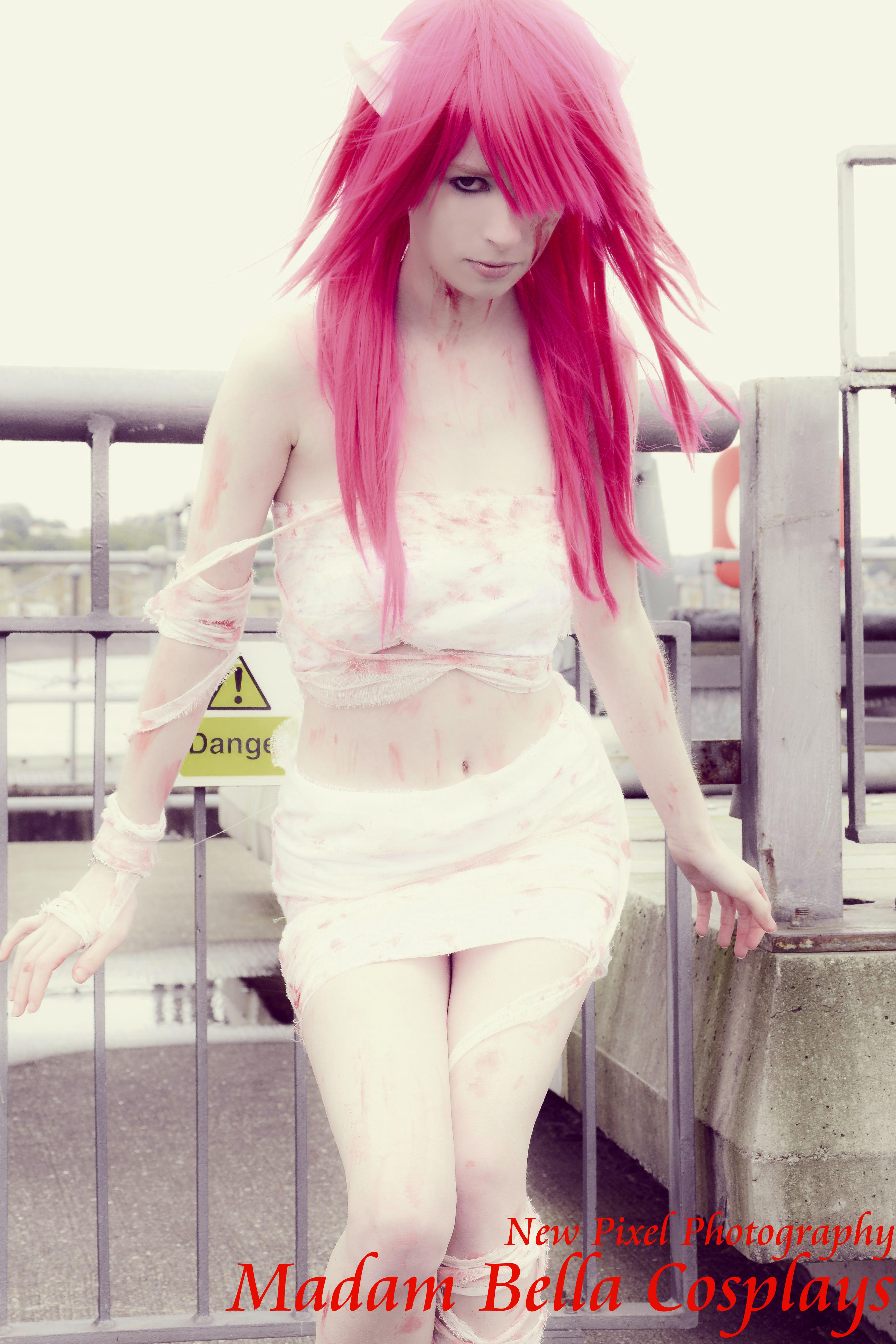 Elfen Lied Lucy Bandaged Cosplay Print 4 On Storenvy