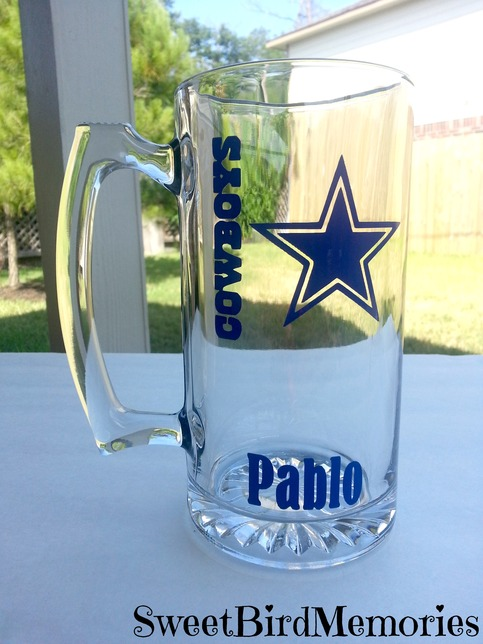 Dallas Cowboys Beer Mug Color On Storenvy